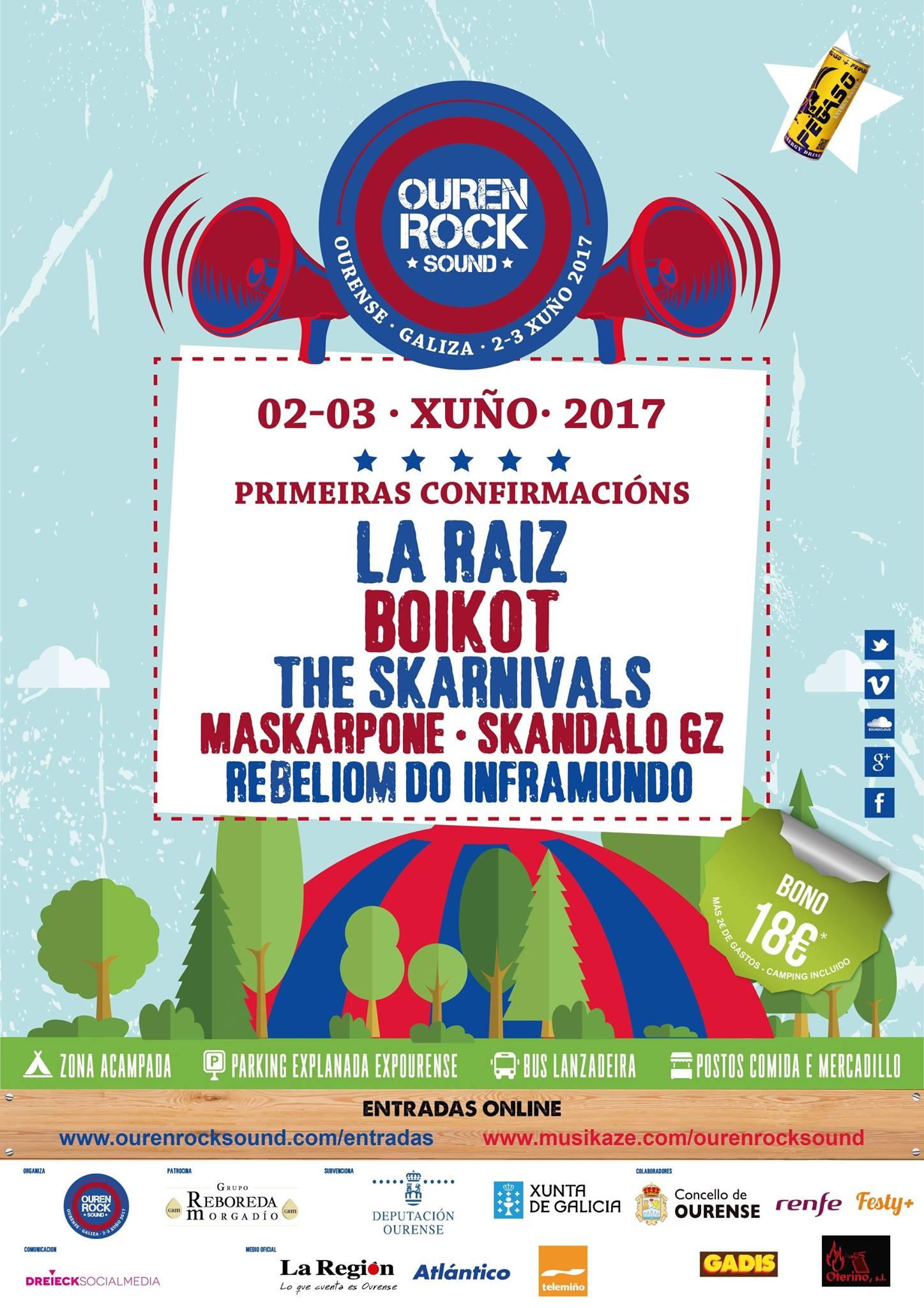 OurenRock Sound Festival. 2 y 3 Junio. Benposta (Ourense)