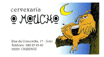 Cervexaria O Moucho. Ourense.