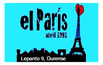 Bar París. Ourense.
